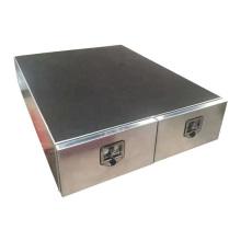 Алюминиевый двухдверный ящик для хранения UTE / грузовика