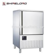 Bon prix congélateur vertical vertical de souffle d'acier inoxydable de restaurant de bon prix 220L