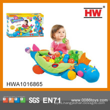 Newest Dinosaur With Colorful Ball Baby Floor Mat With Ball