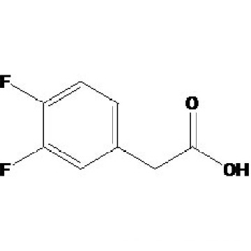 Acide 3, 4-difluorophénylacétique N ° CAS: 658-93-5