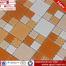 hot sale mixed crystal glass powder mosaic tile for swimming pool wall