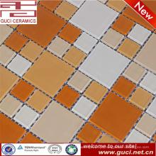 telha de mosaico misturada do pó do cristal da venda quente para a parede da piscina