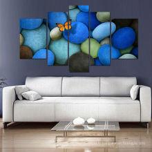 5 panneaux d'art abstraite