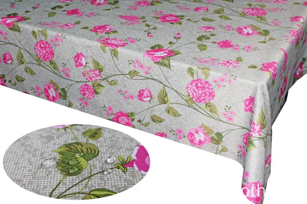 PU Coating Printed Tablecloth
