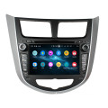 Car Head Unit für Verna Accent Solaris 2011-2012