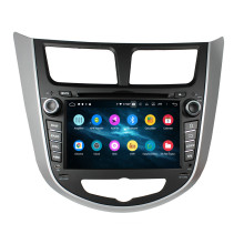 car head unit for Verna Accent Solaris 2011-2012