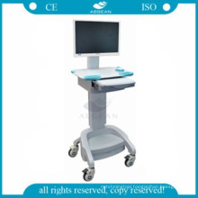 AG-WT002A healthcare medical trolley workstation hospital mobile used