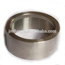 304 / 316L en acier inoxydable demi-accouplement o.d. Usiné (1/2 SPE)