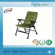 Cadeiras dobráveis de acampamento dobráveis de alumínio da pesca do tamborete