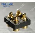 4 Pin Double Row Pogo Pin Connector