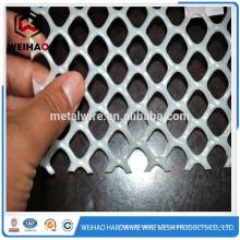 Maillage métallique en plastique de haute qualité, plastique plissé en plastique, fil métallique coloré