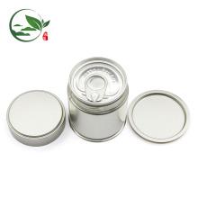 Aceite o logotipo feito sob encomenda Matcha Pop-top pode, lata de lata redonda de Matcha com tampa do parafuso