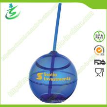 500ml BPA-Libre Eco amigable taza de paja de plástico (TB-A5)