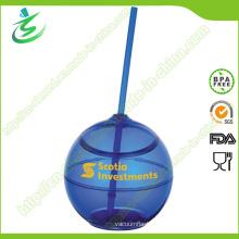 500ml BPA-Free Eco Friendly Plastic Straw Cup (TB-A5)