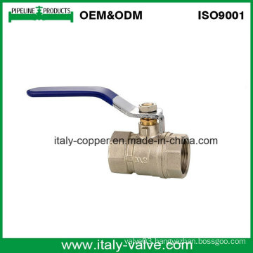 Italycopper Producted Female Brass Ball Valve (AV10021)