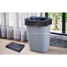 Résistance aux déchirures Sacs à ordures solides en plastique