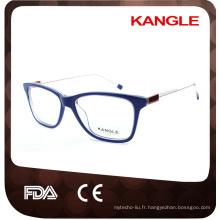 Mode à la mode styles acétate optique montures et lunettes lunettes