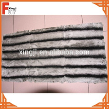 Genuine Animal Fur Chinchilla Rex Rabbit Fur
