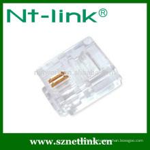 Precio de fábrica cat3 6p2c rj11 conector