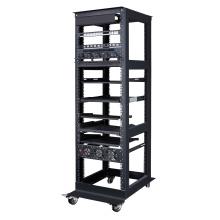 Изготовление и сборка серверных корпусов с открытыми металлическими стойками