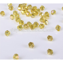 Loose crystal bicone beads glass bead bracelet