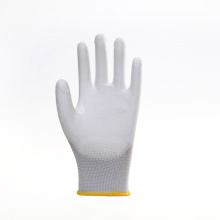 Anti-slip PU Coated Wearable Work Protective Gloves