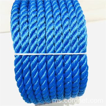 Blue 3 Strand Twist PP Rope