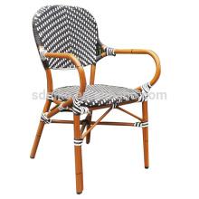 DC- (153) Современный плетеный стул из ротанга обеденный / красочный бамбуковый стул