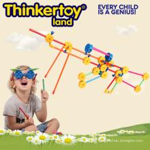 Plastikspielzeug DIY Produkt-Baustein-Ausbildung Spielzeug für Kinder