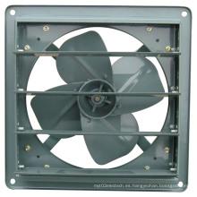 Ventilador de ventilación industrial con obturador