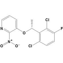 3-[[ (1R) -1- (2, 6-Dichloro-3-fluorophenyl) Ethyl]Oxy]-2-Nitropyridine CAS No. 877397-70-1