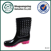 Cowgirl Stiefel kurze Regen Stiefel Frauen B-819