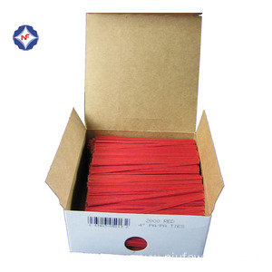 Solid Color Paper Twist Tie Bag Closing