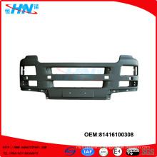 MAN truck auto spare parts front bumper 81416100308