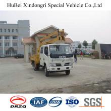Caminhão da plataforma de trabalho aéreo de 14m Dongfeng Euro 3