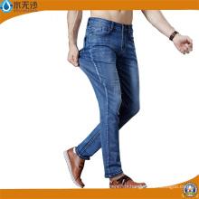 Usine Jeans Pantalon Jean Denim Stretch Bleu Pantalon De Coton De Mode