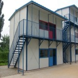 Light Steel Prefabricated House for Construction, Mining and Oilfield Site Using