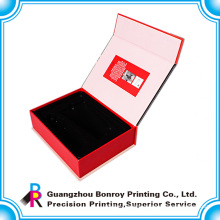 High end book shaped custom jewelry gift packaging box
