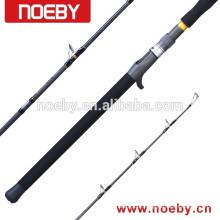 NOEBY barra de carbono japonesa FUJI barra de pesca haste de jigging