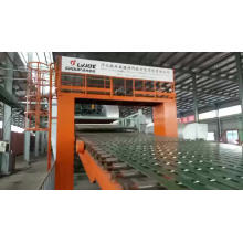 Mineral wool decorating and acoustic ceilings production line