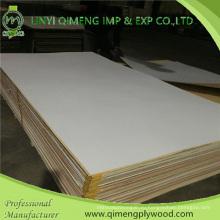 Высокое качество белый цвет 1.6-3.6 мм ПВХ фанеры Линьи