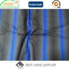 Tissu de doublure de doublure imprimée de base de sergé de polyester de 260t Chine Fabricant