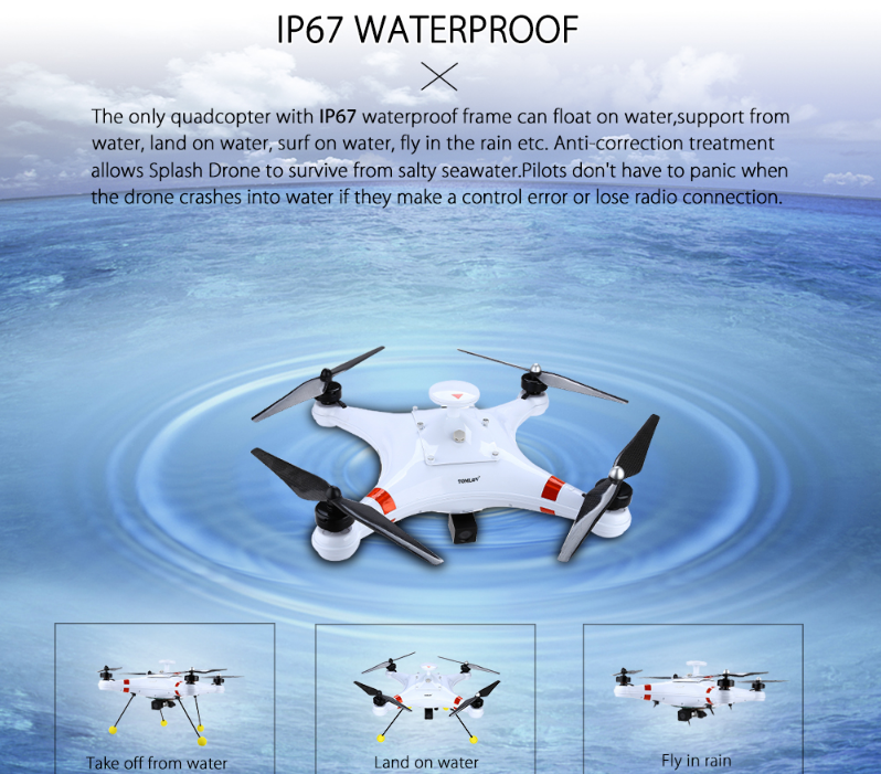 Waterproof Drone For Fishing