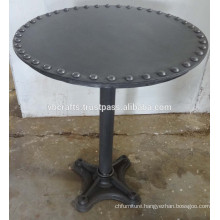 Vintage Industrial Table, Outdoor and Restaurant