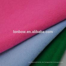 Wollene 90% Wolle 10% Nylongewebe für Mäntel, 15 Farben erhältlich