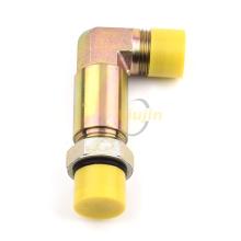 90 градусов JIC мужской длинный sae уплотнительное кольцо вращающийся адаптер гидравлический садовый шланг разъем