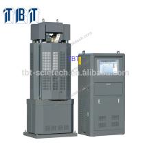 Operación fácil conveniente de alta precisión Máquina de prueba universal automática Servo
