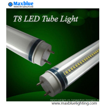 TUV Ce Aprobado 600mm 10W 2FT T8 Luz del tubo del LED