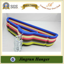 Reliable Quality Fashionable Colorful Velvet Hanger for Clothes
