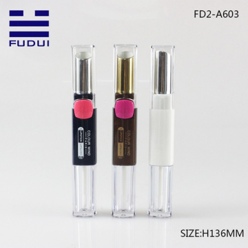 Double Lipstick Tube/Lip Gloss Tube Cosmetic